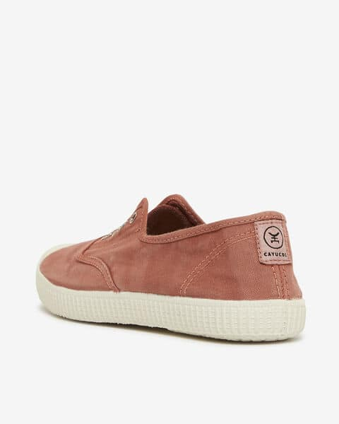 SNEAKERS CAYUCOS, ROUILLE