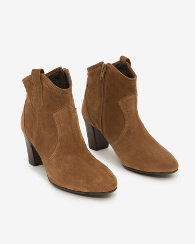 BOOTS TACIANA/VEL, CANNELLE