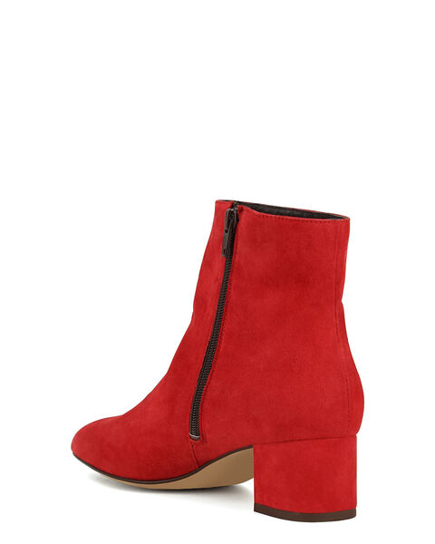 BOOTS ALMONA, ROUGE