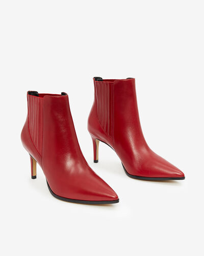 BOOTS NILENA, ROUGE