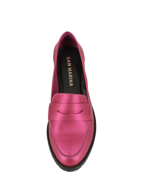 MOCASSINS MUSARA/MAT, ROSE