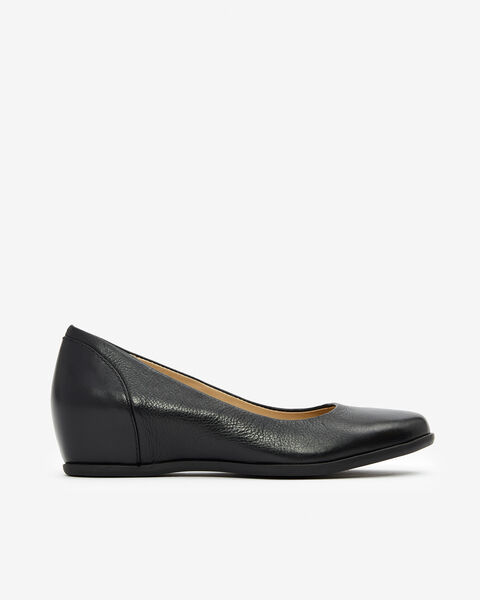 BALLERINES MUMMIA COLLECTION FEMME AUTOMNE HIVER, NOIR