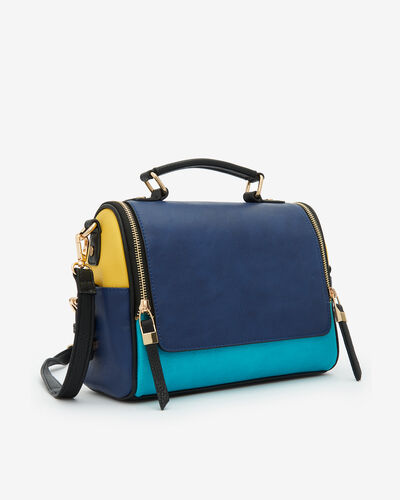 SAC BRIDA, INDIGO MULTICOLORE