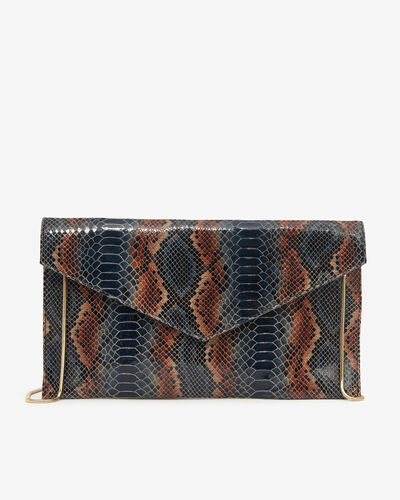 POCHETTE AVA/TRIBAL, MULTICOLORE
