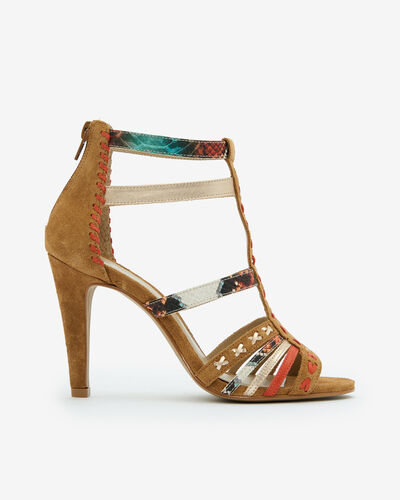 SANDALE NODA/TRIBAL, MULTICOLORE