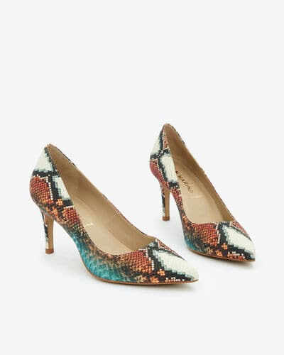 ESCARPIN VILAS/TRIBAL, MULTICOLORE