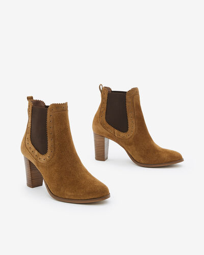 BOOTS MAYEAL/VEL, CANNELLE
