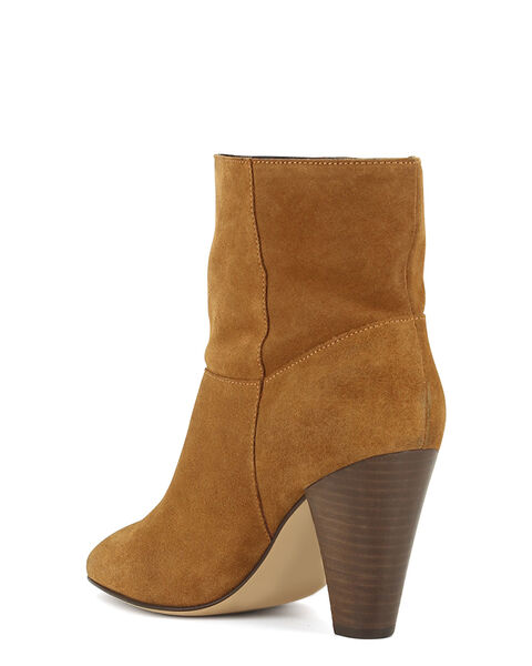BOOTS ANSIA/VEL, CAMEL