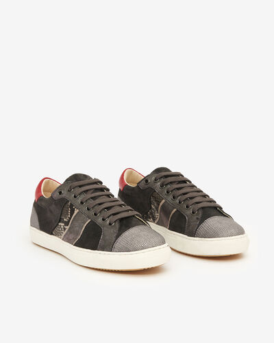 SNEAKER BAGOLA, ANTHRACITE