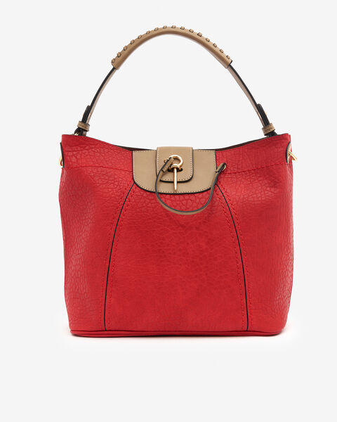 SAC BUFFYNA, ROUGE TAUPE