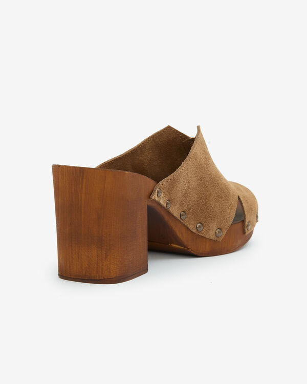 MULES DIENABA, TAUPE