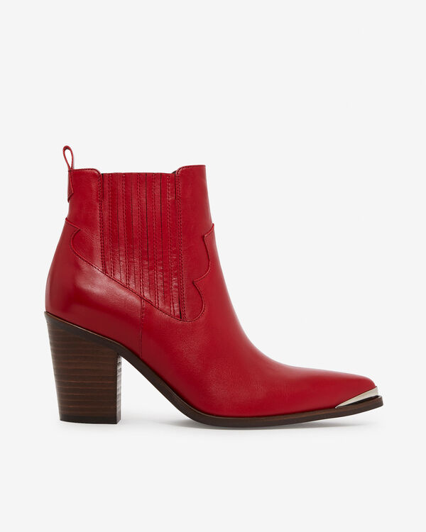 BOOTS AGUEDA, ROUGE
