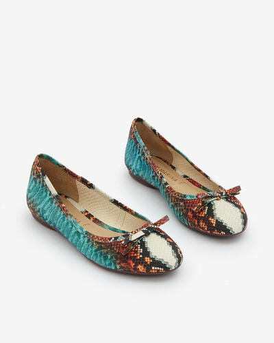 BALLERINE VIBIA/TRIBAL, MULTICOLORE