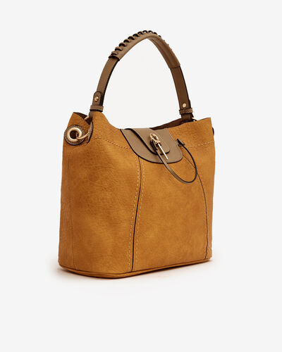 SAC BUFFYNA, CURRY TAUPE