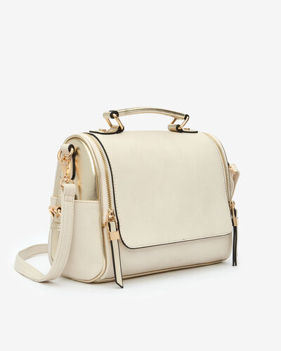 SAC BRIDA, CREME MULTICOLORE