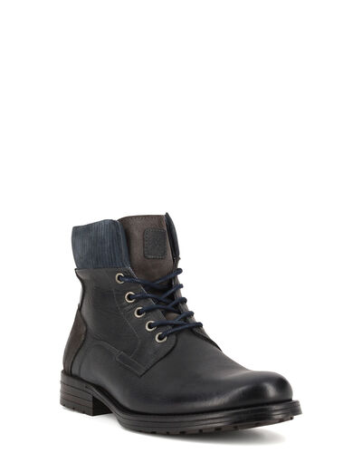 BOOTS SEVRO, GRIS