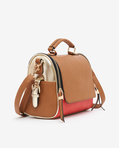 SAC BRIDA, CORAIL MULTICOLORE