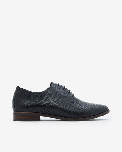 DERBIES MARLOU/SERP, NOIR
