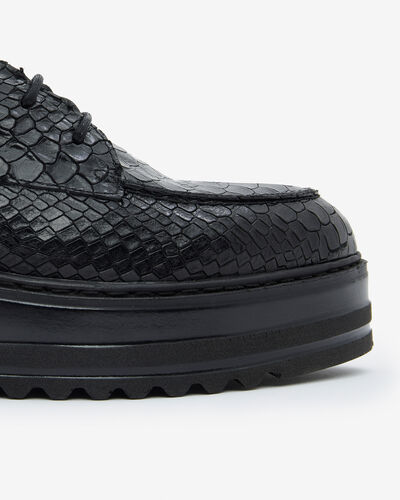 DERBIES MALICE/BOA, NOIR