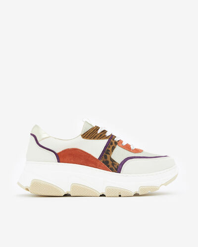 SNEAKERS GINGERA, IVOIRE MULTICOLORE