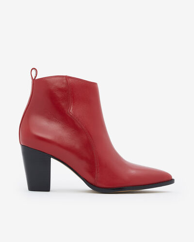 BOOTS VERINAVA, ROUGE