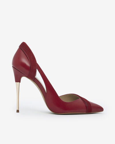ESCARPIN LOUAKO, ROUGE