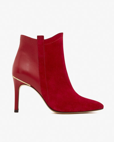 BOOTS ALEPAL/VEL, ROUGE