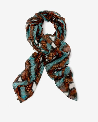FOULARD LOU-TRIBAL, MULTICOLORE