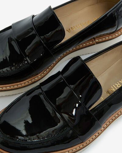 MOCASSIN MARCION/VS, NOIR