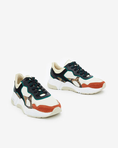 SNEAKERS GALADIO, IVOIRE MULTICOLORE