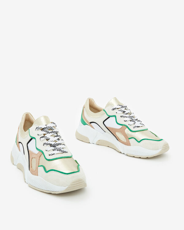 SNEAKERS GALADIO, BLANC MULTICOLORE