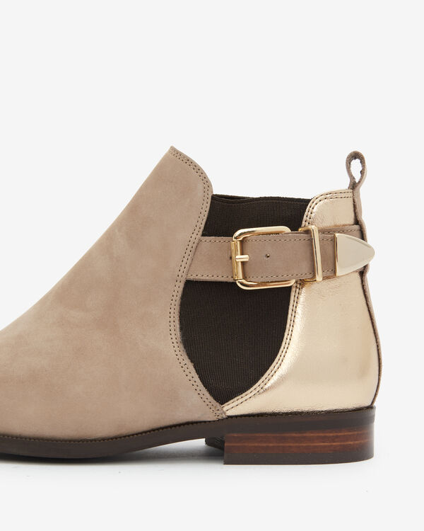 BOOTS ANDA, TAUPE CAMEL