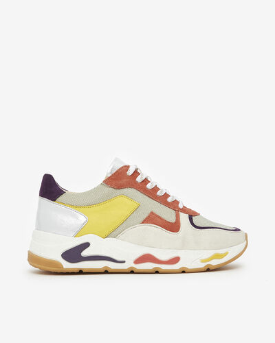 SNEAKER GIA, OR MULTICOLORE