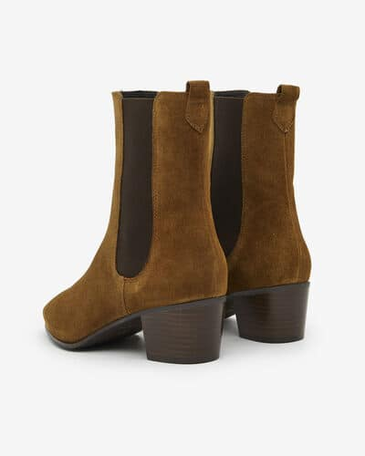 BOOTS AGAPITO/VEL, CANNELLE