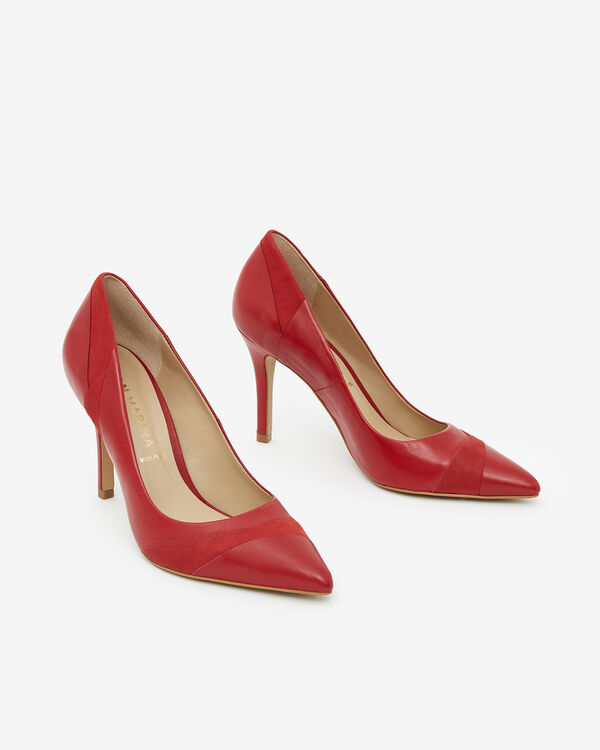 ESCARPIN EMALIA, ROUGE