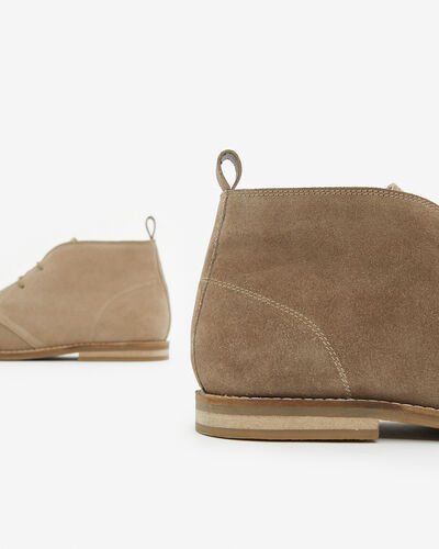 BOOTS DILLAR, TAUPE