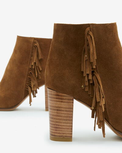 BOOTS AULIFRA, CAMEL