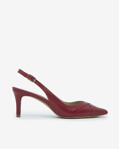 ESCARPIN TIFELA, ROUGE