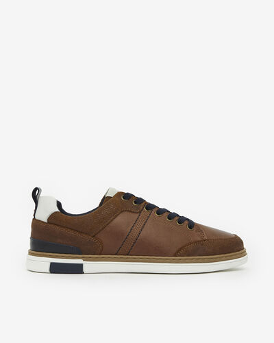 TENNIS JERK, COGNAC