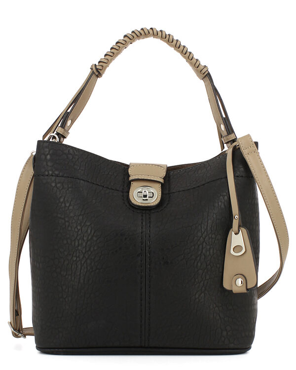 SAC BUFFY, NOIR TAUPE