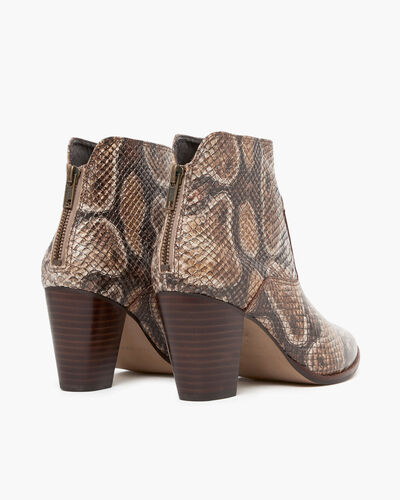 BOOTS VERANE/SNAKE, OR