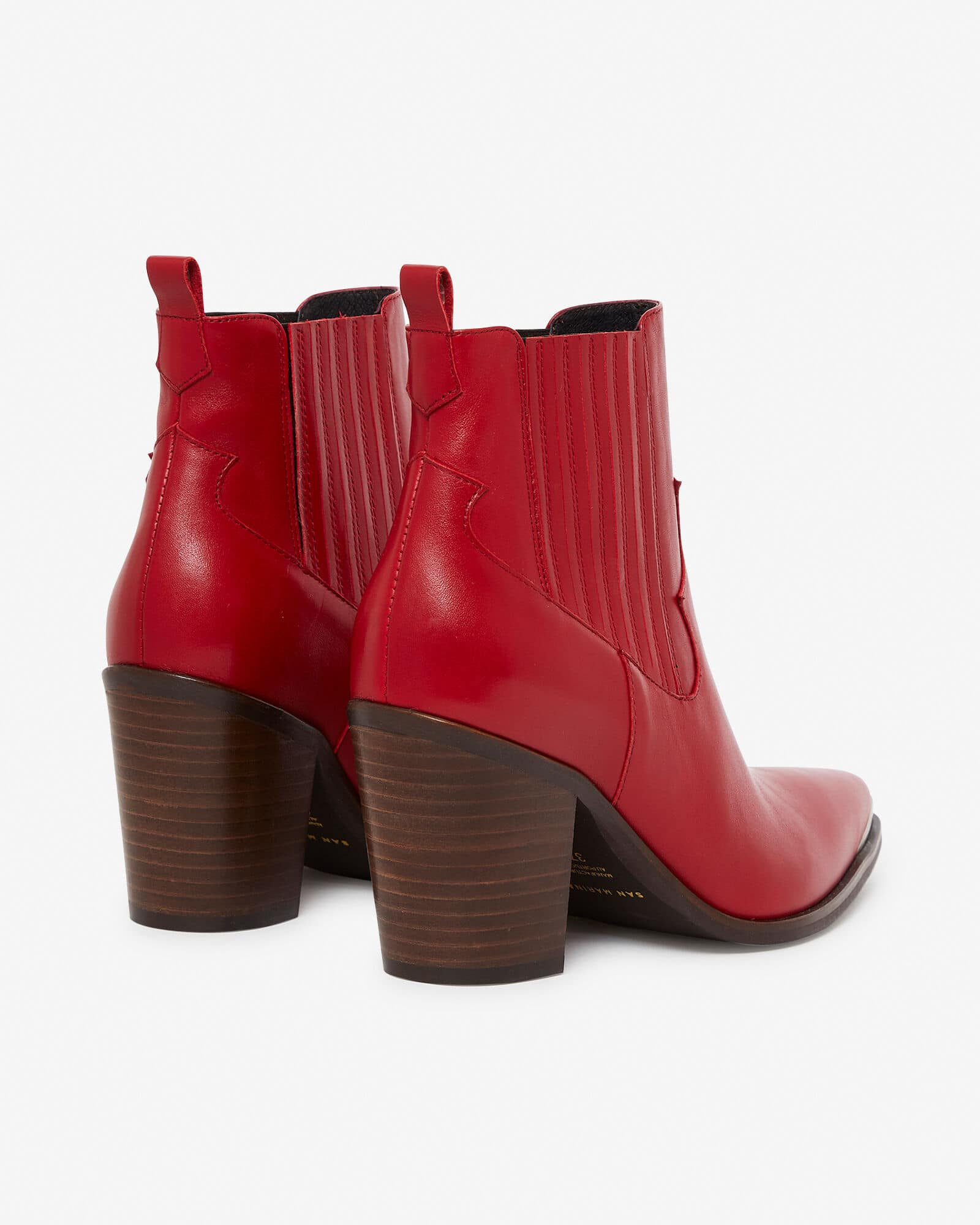 BOOTS AGUEDA ROUGE