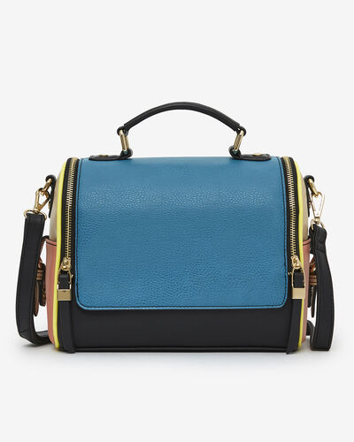 SAC BRIDA, BLEU MULTICOLORE