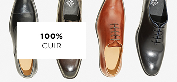 Chaussures homme cuir